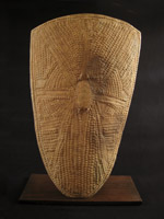 African Tribal Art - Shield, Wandala, Northern Cameroon
